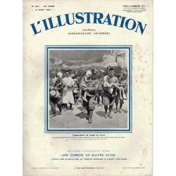 L'Illustration n° 4561 - 2 août 1930 - Tremblement de terre en Italie
