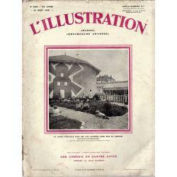 L'Illustration n° 4564 - 23 août 1930 - Un Jardin d'enfants dans une cité ouvrière d'une mine de Lorraine