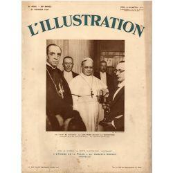 L'Illustration n° 4590 - 21 février 1931 - La T.S.F. au Vatican : Le Saint-Père devant le microphone