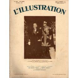L'Illustration n° 4598 - 18 avril 1931 - Le voyage du Président de la République en Tunisie
