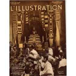 L'Illustration n° 4612 - 25 juillet 1931 - L'Exposition Coloniale, pavillon du Cambodge