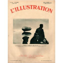 L'Illustration n° 4614 - 8 août 1931 - Rencontre Aéromaritime dans l' Arctique