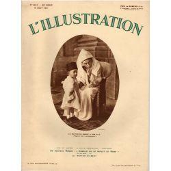 """L'Illustration n° 4615 - 15 août 1931 - Le Sultan du Maroc à son fils : """"regarde bien le photographe !"""""""