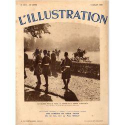 L'Illustration n° 4818 - 6 juillet 1935 - Aux grandes fêtes de Paris : La Journée de la Vénerie à Bagatelle
