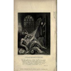 Frankenstein - Mary Shelley - (Fantastique) - Photo de l'édition originale révisée 1831