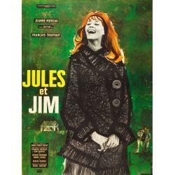 Affiche film Jules et Jim (François Truffaut) - DVD Zone 2