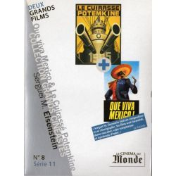 Le Cuirassé Potemkine - Que Viva Mexico ! (Serguei M. Eisenstein) - DVD Zone 2