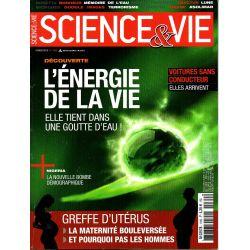 Science & Vie n° 1169 - L'énergie de la vie, elle tient dans une goutte d'eau !