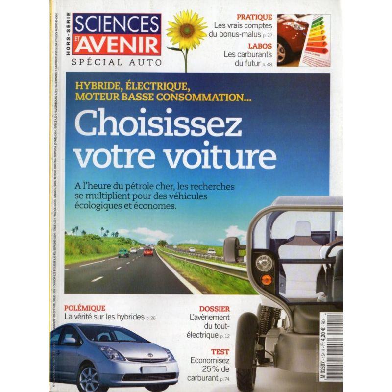 Sciences et Avenir (hors série) n° 154 H - Spécial Auto
