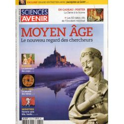 Sciences et Avenir (hors série) n° 155 H - Moyen Age, le nouveau regard des chercheurs