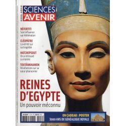 Sciences et Avenir (hors série) n° 157 H - Reines d'Égypte, un pouvoir méconnu
