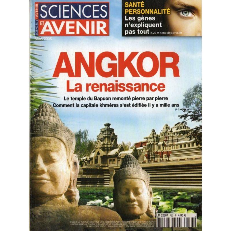 Sciences et Avenir n° 733 - Angkor, la Renaissance