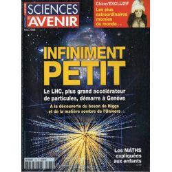 Sciences et Avenir n° 735 - Infiniment Petit, le LHC démarre à Genève