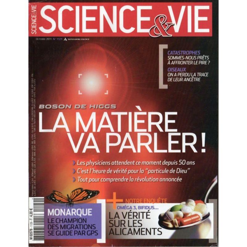 Science & Vie n° 1129 - Boson de Higgs, la matière va parler !