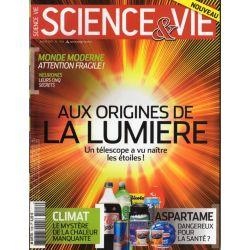 Science & Vie n° 1126 - Aux origines de la lumière, un télescope a vu naître les étoiles !