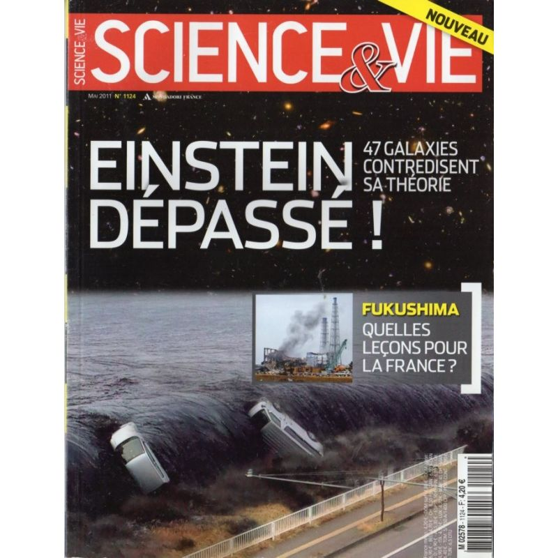 Science & Vie n° 1124 - Einstein dépassé ! 47 galaxies contredisent sa théorie