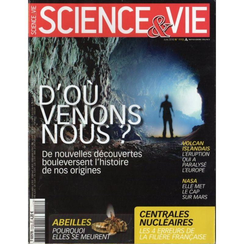 Science & Vie n° 1113 - D'où venons nous ? De nouvelles découvertes bouleversent l'histoire des origines