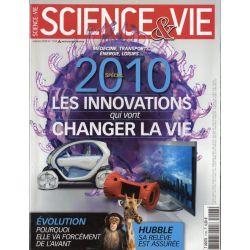 Science & Vie n° 1108 - 2010 Les innovations qui vont changer la vie