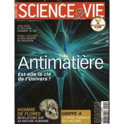 Science & Vie n° 1105 - Antimatière : Est-elle la clé de l'Univers ?