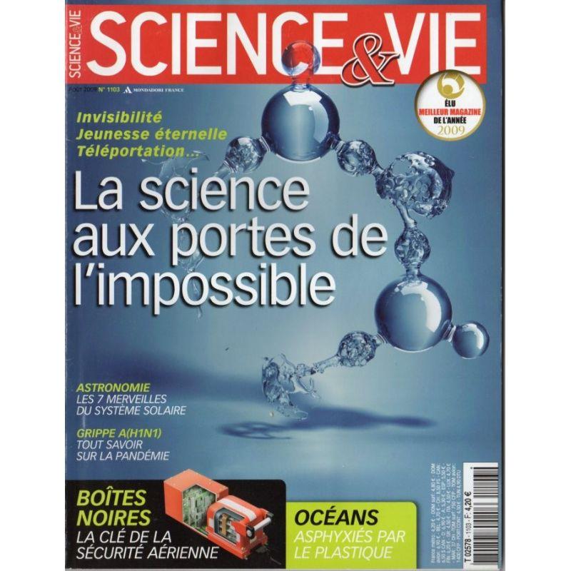 Science & Vie n° 1103 - La science aux portes de l'impossible