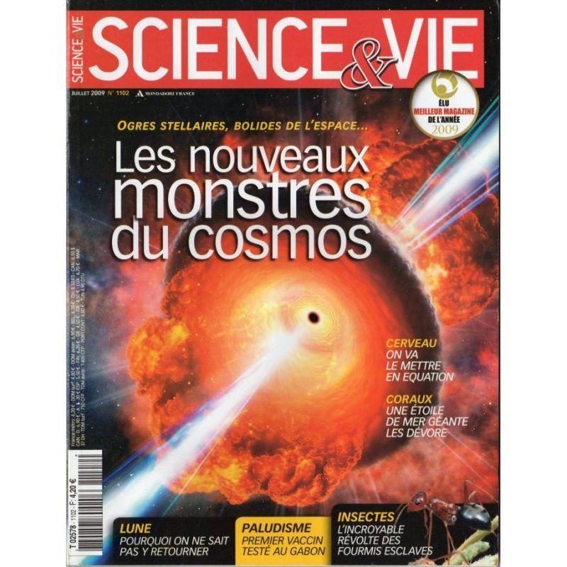 Science & Vie n° 1102 - Les nouveaux monstres du Cosmos