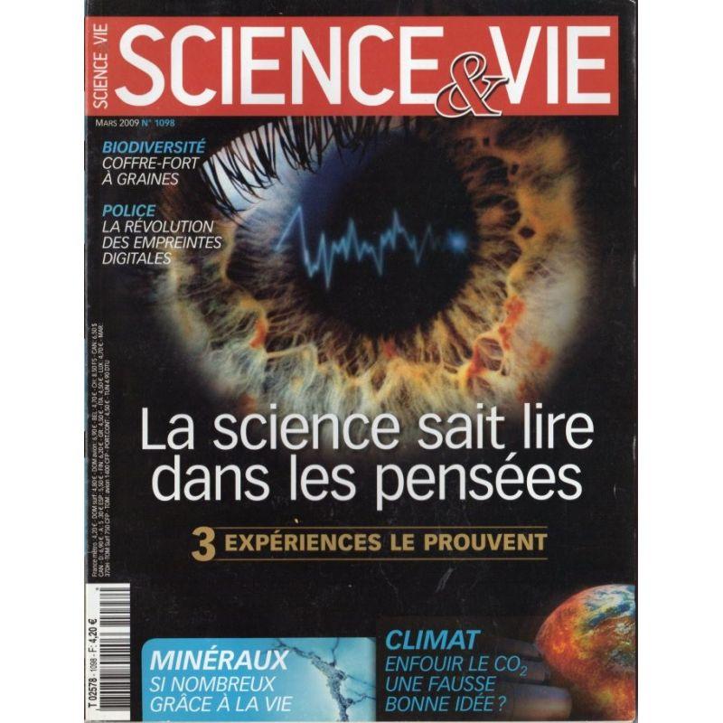 Science & Vie n° 1098 - La science sait lire dans les pensées