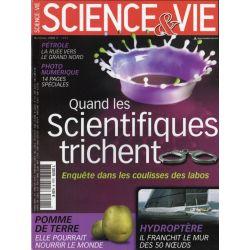 Science & Vie n° 1094 - Quand les scientifiques trichent - Enquête