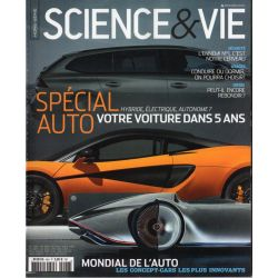Science & Vie Hors série n° 46 H - Spécial Auto - Hybride, électrique, autonome ?