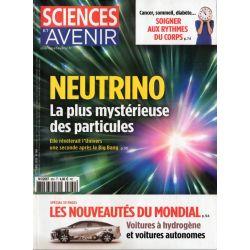 Sciences et Avenir n° 860 - Neutrino : La plus mystérieuse des particules