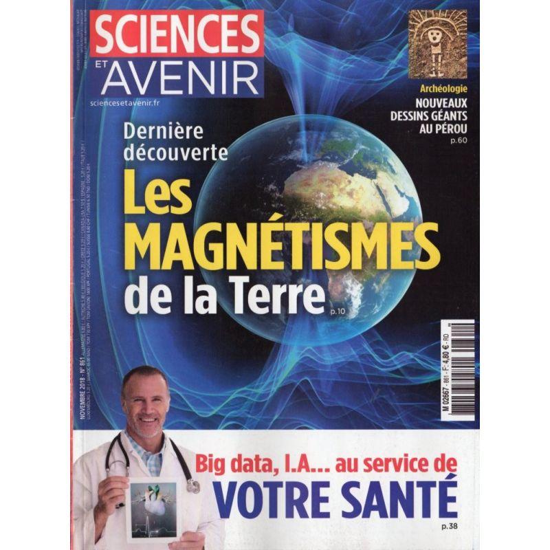 Sciences et Avenir n° 861 - Les Magnétismes de la Terre