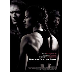 affiche Million Dollar Baby (Clint Eastwood) - DVD Zone 2