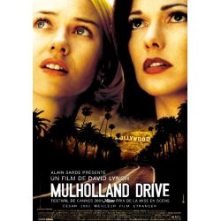affiche Mulholland Drive (David Lynch) - DVD Zone 2