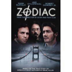 affiche Zodiac (David Fincher) - DVD Zone 2