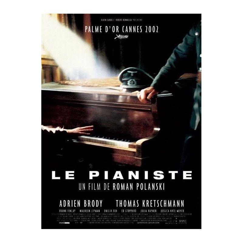 Affiche Le Pianiste (de Roman Polanski) - DVD Zone 2
