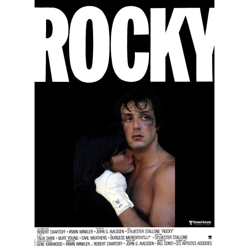 Affiche ROCKY (Silvester Stallone) - DVD Zone 2