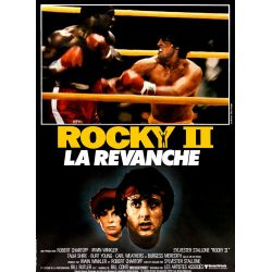 Affiche ROCKY II (Silvester Stallone) - DVD Zone 2