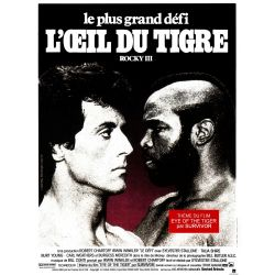 Affiche ROCKY III (Silvester Stallone) - DVD Zone 2
