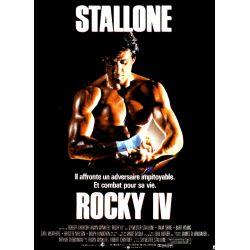 Affiche ROCKY IV (Silvester Stallone) - DVD Zone 2