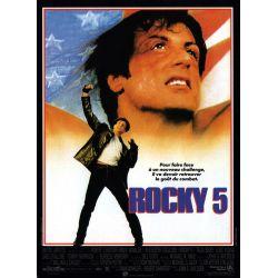 Affiche ROCKY V (Silvester Stallone) - DVD Zone 2