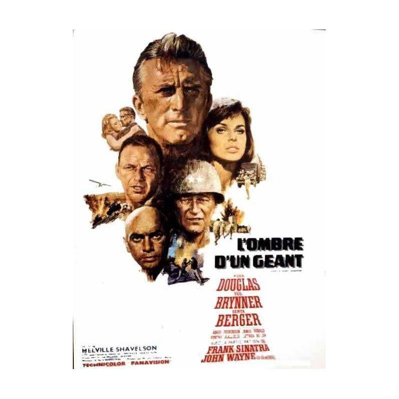 Affiche L'Ombre d'un Géant (John Wayne) - DVD Zone 2