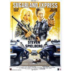 Affiche Sugarland Express (de Steven Spielberg) - DVD Zone 2