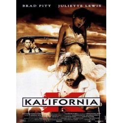 Affiche Kalifornia (Brad Pitt, David Duchovny) - DVD Zone 2