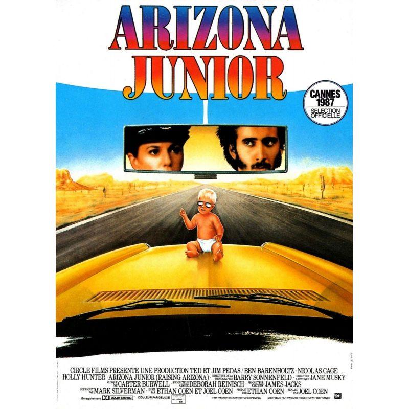 Affiche Arizona Junior (Nicolas Cage, Holly Hunter) - DVD Zone 2
