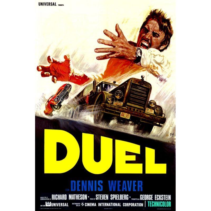 Affiche Duel (de Steven Spielberg)