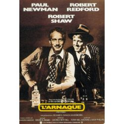 Affiche L'Arnaque - (Paul Newman, Robert Redford) - DVD Zone 2