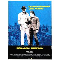 Affiche Macadam Cowboy (Dustin Hoffman, John Voight) - DVD Zone 2