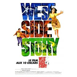 Affiche West Side Story (de Robert Wise & Jerome Robbins) - DVD Zone 2