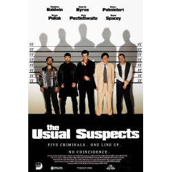 Affiche Usual Suspects (Stephen Baldwin, Gabriel Byrne) - DVD Zone 2