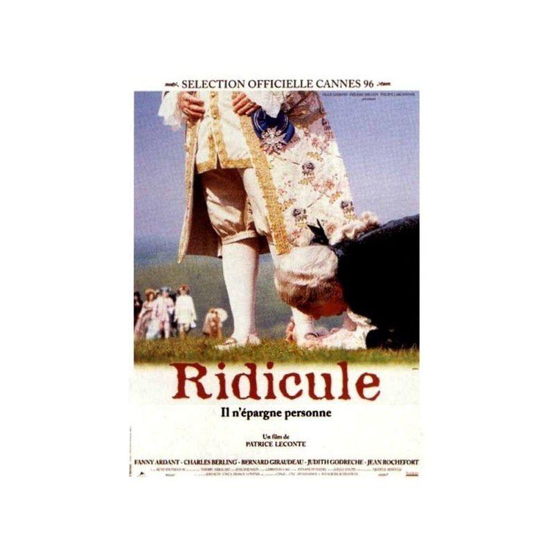 Affiche Ridicule (de Patrice Leconte)