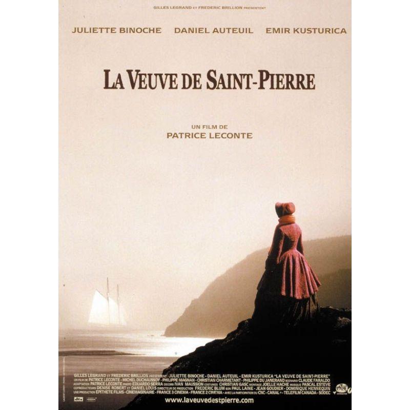 Affiche La Veuve de Saint Pierre (de Patrice Leconte)